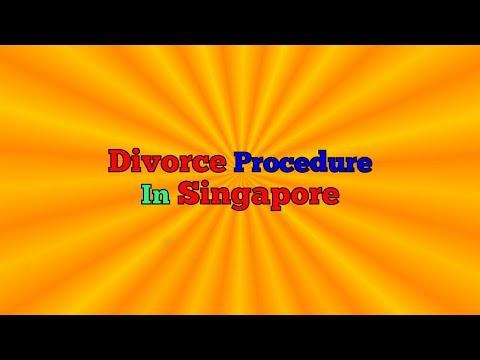 Divorce Procedure In Singapore | Divorce In Singapore - What's The Divorce Procedure
