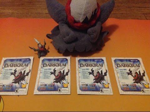 #Pokemon20 Darkrai Code Giveaway (CLOSED)