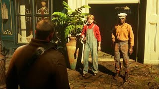 ARTHUR KILLS KIDS? | RED DEAD REDEMPTION 2 FUNNY MOMENT