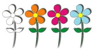 #x202b;تعلم كيفية رسم وردة للاطفال بطريقة سهلة#x202c;lrm;