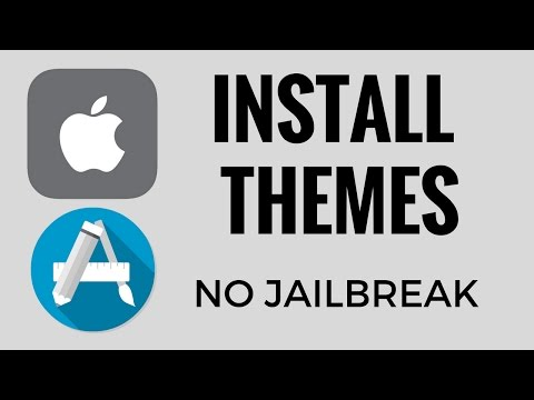 Install Themes on IPhone IOS 7 - 10  no Jailbreak