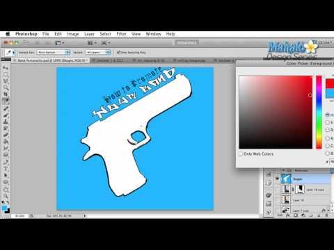 Photoshop Tutorial - Good Band Logo Design