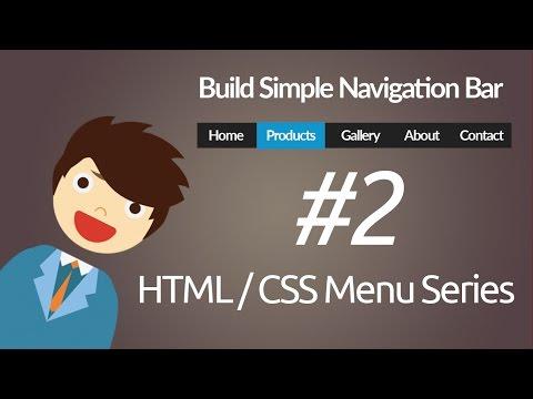 HTML & CSS : Build Simple Navigation Bar
