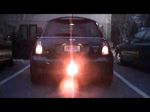 MINI Cooper S Rear Fog