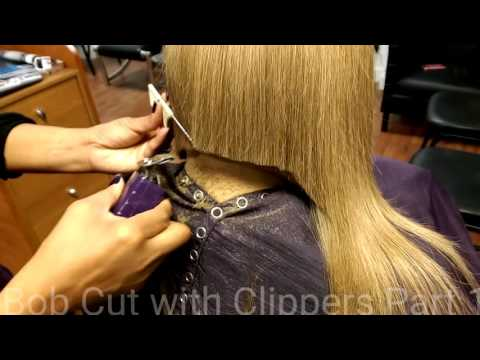 Do a perfect Bob outline using Clippers