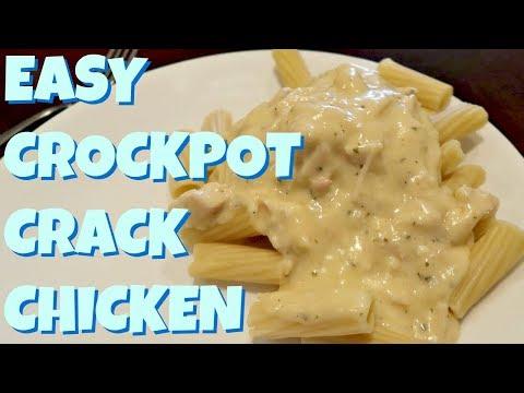 EASY Crockpot Crack Chicken Recipe