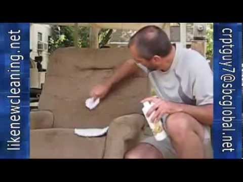 Carpet Cleaning Sarasota FL   Get Stains Out Of Recliner   888-883-3359 Like New Cleaning