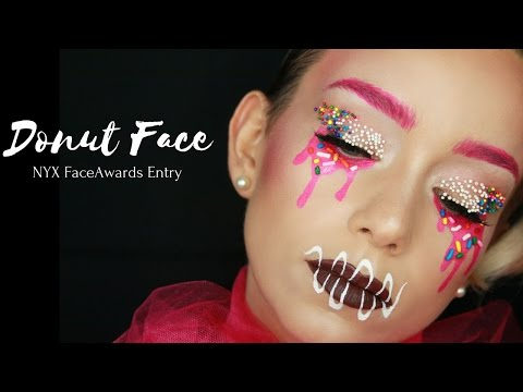 NYXFaceAwards Entry! Donut Frosting Inspired makeup