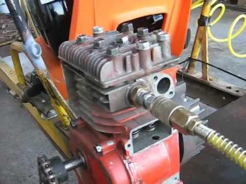 Compressed Air Go-Kart Engine