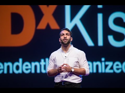 Breaking the Habit of Smalltalk | Omid Scheybani | TEDxKish