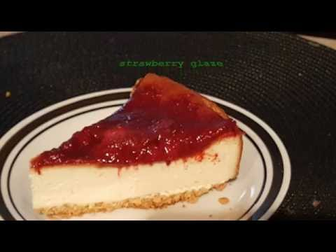 Strawberry Glaze topping
