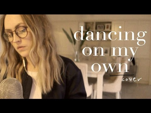 Dancing on my own (live acoustic cover)  Lizzy