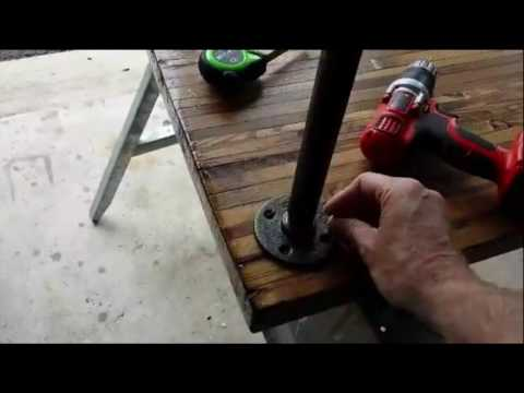 Installing Iron Legs on Steampunk Desktop