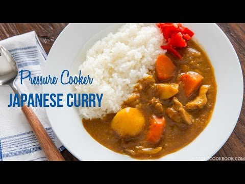 How To Make Pressure Cooker Japanese Curry (Recipe) 圧力鍋で作るカレーライスの作り方(レシピ)