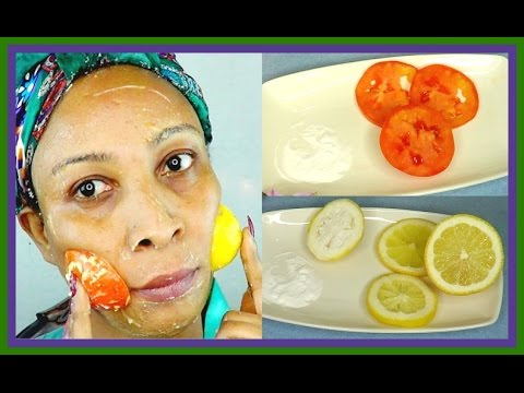 SHOULD YOU USE TOMATO AND BAKING SODA OR LEMON AND BAKING SODA | FACIAL SCRUB | Khichi Beauty