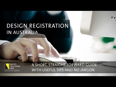 Design Registration: A guide to the process in Australia