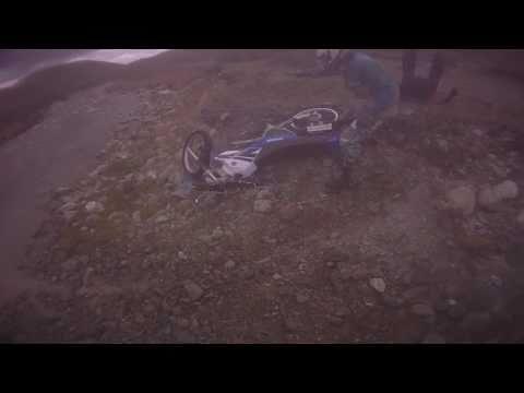 Funny dirt bike crash - NZ High Country Trail NZ