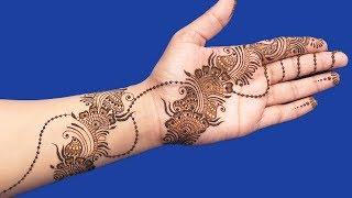 Mehndi Designs for Hands | Beautiful Jewelry Mehndi Designs for Hands #106 @ jaipurthepinkcity