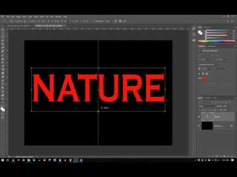 Create Textured Word Art in Photoshop CC