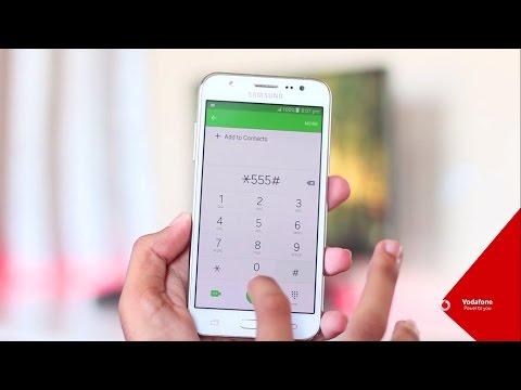 Subscribing to Mobile Internet Plans via *555#