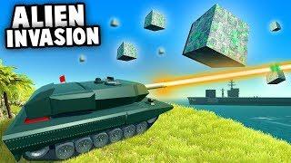 INFINITY WAR Battle! The New THANOS GUN! (Ravenfield Best