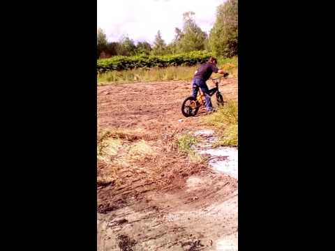 BMX Bike Down