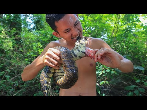 Survival Time: Catch Snake & Cooking Snake Soup With Bamboo Shoot