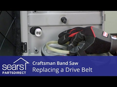 How to Replace a Craftsman Band Saw Drive Belt