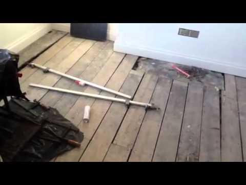 Part 1. Pine Floor Restoration