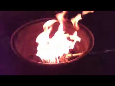Homemade Portable Propane Fire Pit