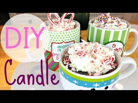 DIY Hot Chocolate Candle | Easy Gift Ideas | by Michele Baratta