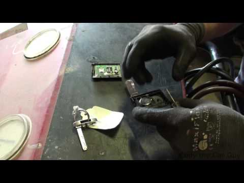 Cadillac ATS key fob battery replacement simple and easy