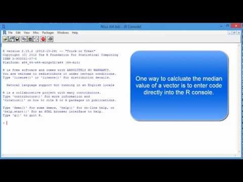Find Median Value with R Programming Language - Statistics Tutorial