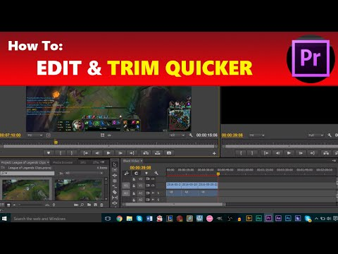 How To: Edit & Trim Clips Quicker and More Efficiently in Adobe Premiere Pro