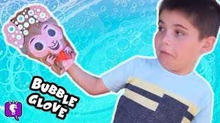 MUSIC VIDEO! Bubble-A-Glove Toy Review with Mystery Prizes by HobbyKidsTV