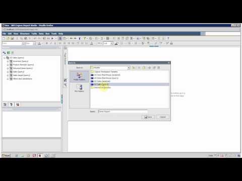IBM Cognos 10 Report Studio Create First Report
