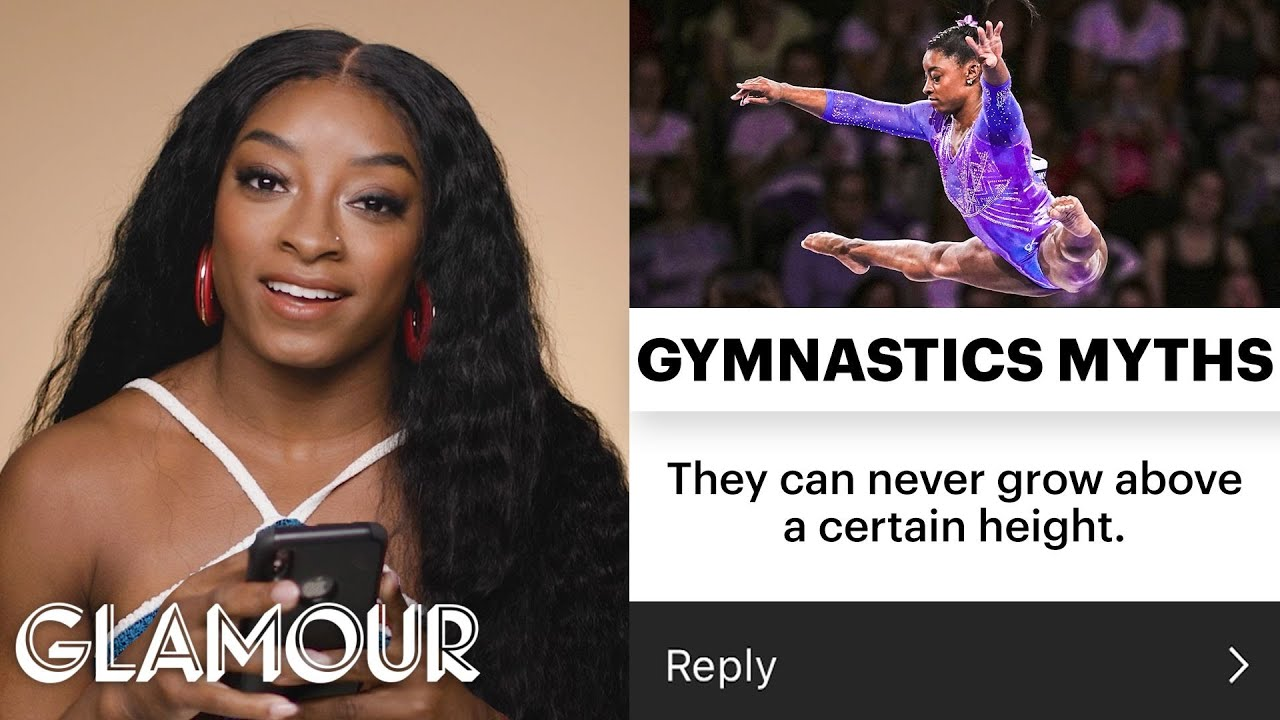 Simone Biles Debunks Every Gymnastics Myth   Glamour