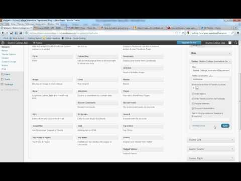 How to Add Twitter to Your WordPress Blog