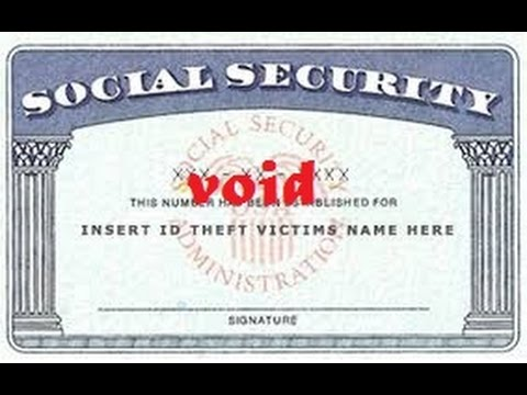 Living without a Social Security Number as a Secured Party Creditor pt I