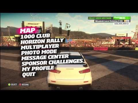 How to mod Forza Horizon (Cr Money, Level Ristbands, Unicorn and Traffic Cars) *NEW*