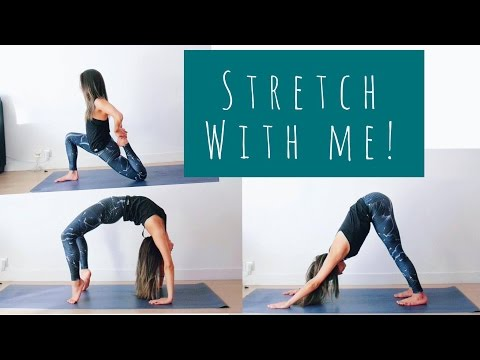 MY STRETCHING ROUTINE | LONGER LEANER MUSCLE 💕