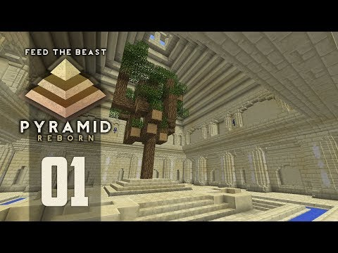 FTB Pyramid Reborn - Ep. 1: NO SAPLINGS! (Modded Minecraft 1.12)