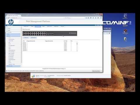 switch Crear VLANs en Switch HP v1910 con JUNIPER JUNOS SRX