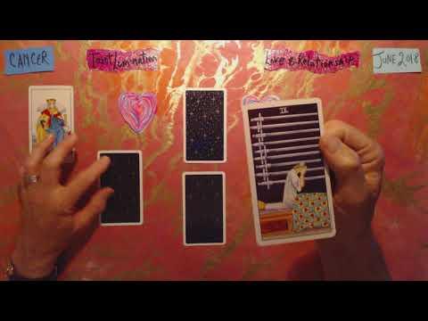 Cancer / Love & Relationship - June 2018 ~ Tarot Lumination