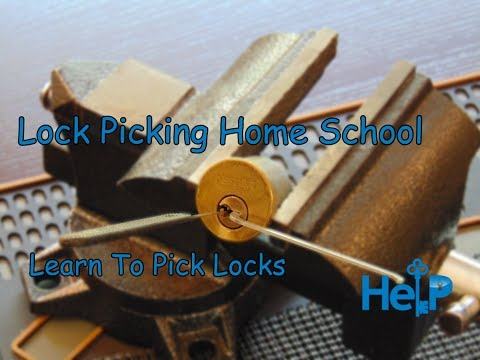 [63] Lock Picking Home School Introduction