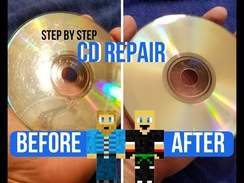How to Fix a Scratched Disk! CD Repair Step by Step Easy