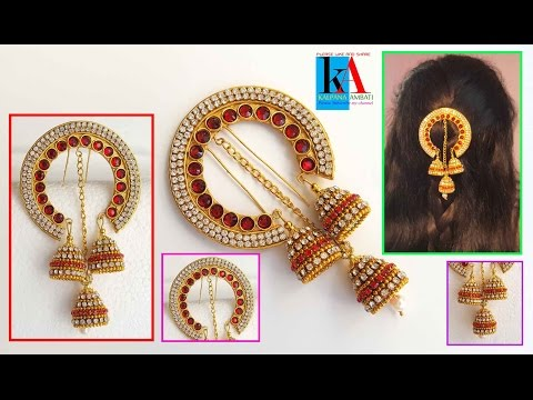 How to make 5 minutes Hair accessories | latest jewellery Model No 1