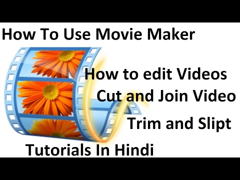 Movie Maker Tutorials- How to cut and join the video file