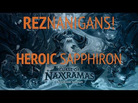 Hearthstone Heroic Sapphiron v Fatigue Mage GvG Edition