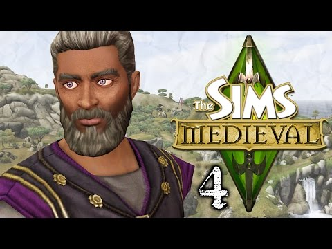 Let's Play The Sims Medieval - Part 4 - Lotions & Potions!